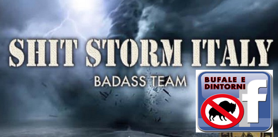Shit Storm e BeD – rendersi ridicoli in una mossa.